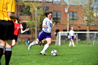 2015 HS Women's Soccer: Bishop Dubourg vs Rosati Kain APR 16